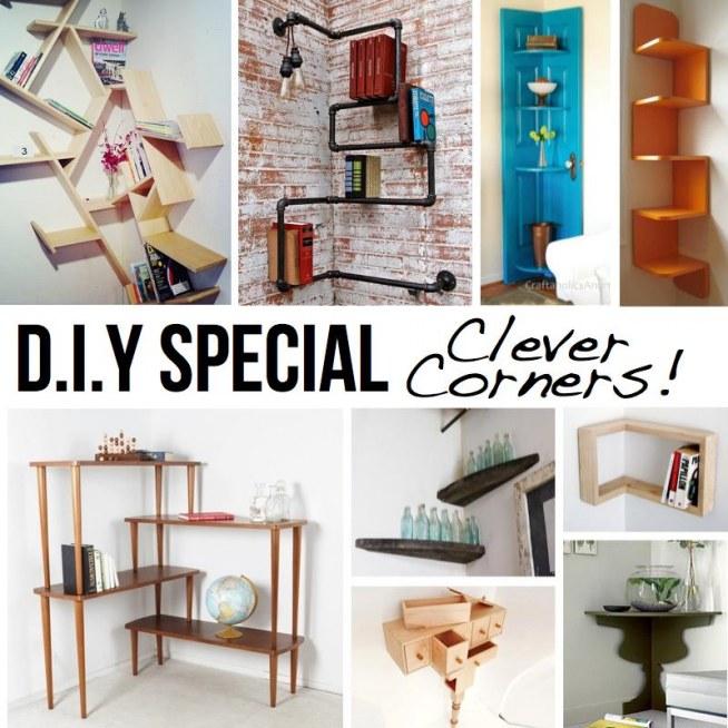 Home Design Gift Ideas: Pomysły Na Półki Narożne Na Pomysły