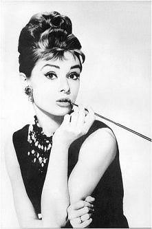 Audrey Hepburn. Piękna.