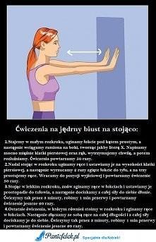 Ćwiczenia na jędrny biust..