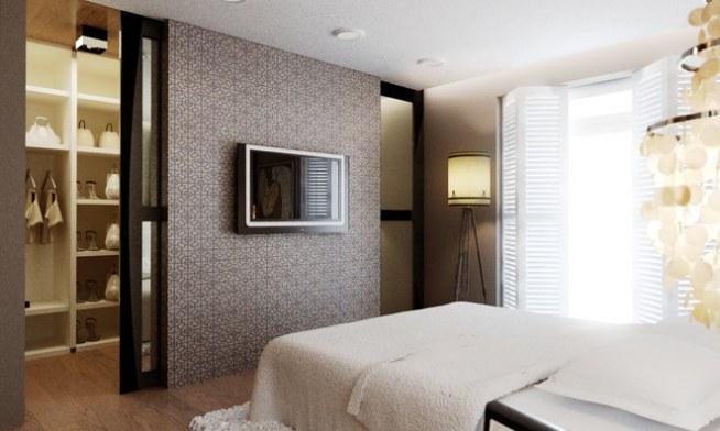 Sypialnia Mądrze Ukryta Garderoba Na Inspiracje Do