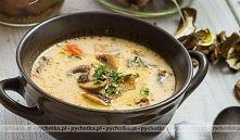 Wyśmienita zupa z piersi kurczaka i pieczarek