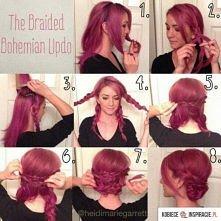 Pomysłowa fryzura!