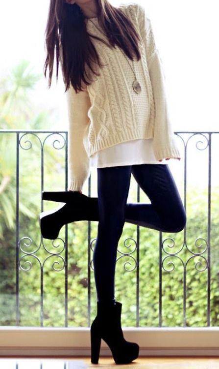 buty i sweterek *.*
