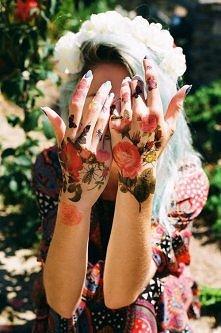 tatuaż róże