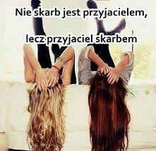 Nie skarb jest przyjacielem, lecz przyjaciel skarbem
