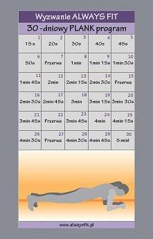 30-dniowe PLANK wyzwanie! S...