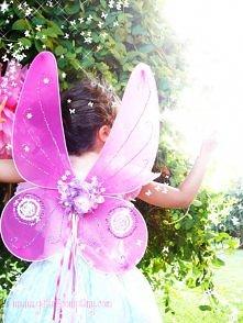piękne skrzydła dla wróżki, motylka ...