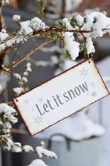 Ohh let it snow!!