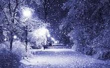 Śliczna zima, ale szkoda, że u nas jej nie ma :(