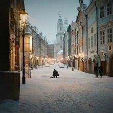 Praga zimą