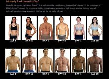 Insanity work out! 60 days- before and after