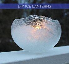 lodowy lampion