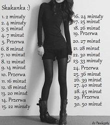 Kolejne 'wyzwanie' z mojej strony. :)  Nasze nogi schudną, oraz waga zmaleje tylko w 30 dni. Zaczynamy! ;)