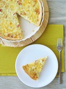 Pomysł na obiad: tarta z po...