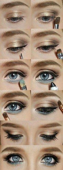 Subtelny makijaż :-)