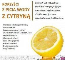 Korzyści picia cytryny z wodą
