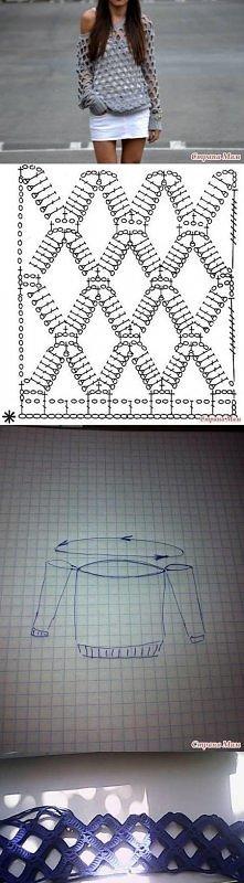 diy, crochet blouse, tutorial