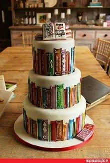 Tort dla książkocholika❤