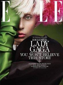 Lady Gaga in Elle US Octobe...