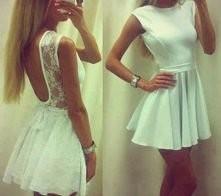 piekna biała sukienka <3