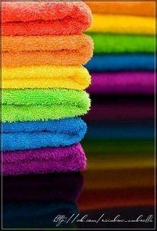 Te ręczniki to prawie jak ozdoba :)