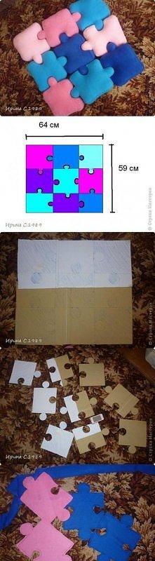 poduszki puzzle:)