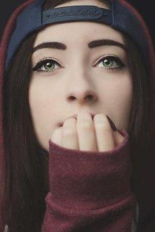 dziewczyna / makijaż / snap...