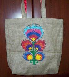 Eco-torba w folkowym stylu