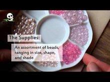 PandaHall Jewelry Making Tutorial Video--DIY Multistrand Glass Bead Floating Illusion Jewelry Set