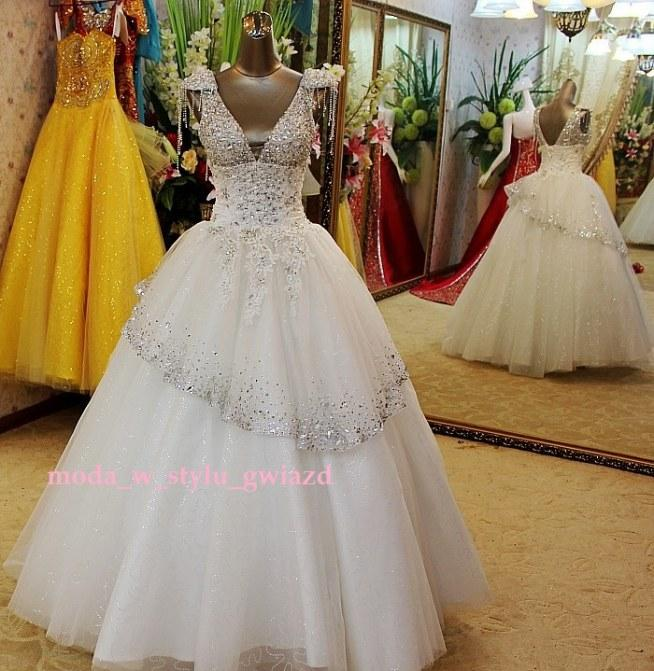 Przeurocza Suknia ślubna Dla Wyjątkowej Panny Młodej Bogato Zd Na