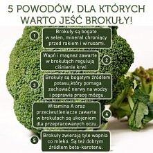 zaczynam jeść więcej brokułów..