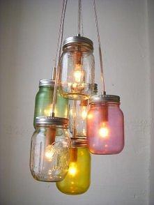 Ciekawy pomysł na oświetlenie.