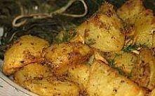 Ziemniaki pieczone z musztardą   SKŁADNIKI: 1/3 szklanki musztardy, 2 łyżki o...