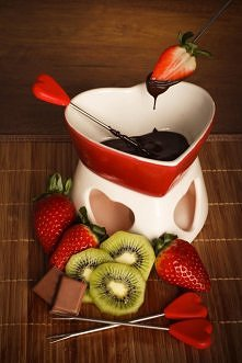 Walentynkowe czekoladowe fo...