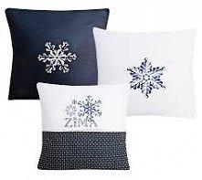 Zimowe poszewki na poduszki... Co Wy na to?