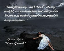 "Claudia Gray - "" Mowa Gwiazd """