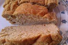 Ciasto z ciecierzycy: -puszka cieciorki (240g) -2 jajka -łyżeczka proszku do ...