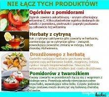 tych produktów nie łączymy !!!!