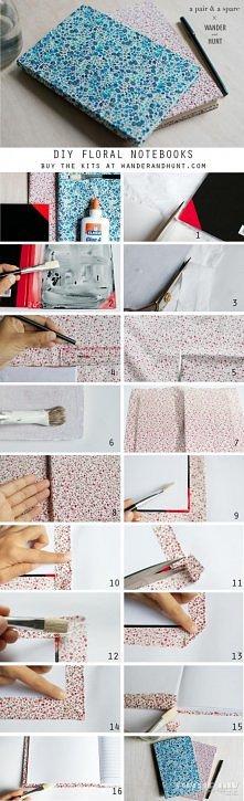 okładka z tkaniny