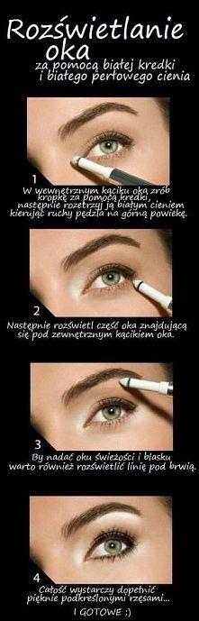 Jak rozświetlić oko ;)