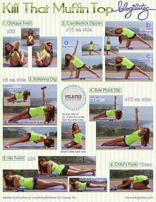 Cwiczenia na boczki  - kliknij w obrazek