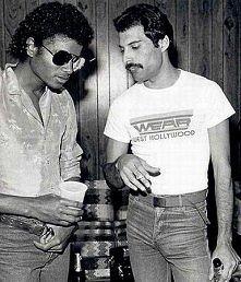 wieczni królowie - Michael Jackson & Freddie Mercury