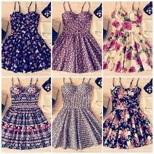 cudowne sukienki *u* jak ktoś wie gdzie można kupić, pisać :3