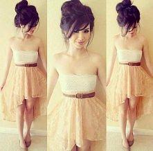 Sukienki z dłuższym tyłem, o boże *o*