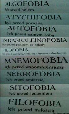 autofobia...