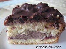 Ciasto rodzynkowo-czekoladowe