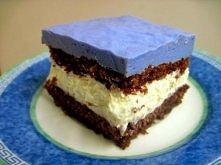 Delikane ciasto z szafirową...