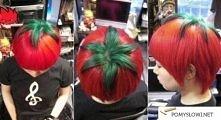 Pomidor...na głowie