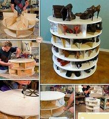Pomysł na półkę z butami