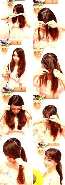 Grzywkę można mieć bez ścinania włosów ;-)